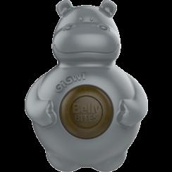 BELLY BITES Nijlpaard Grijs-S 9,5cm