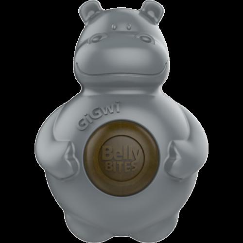 Belly bites  BELLY BITES Nijlpaard Grijs-S 9,5cm