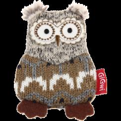PLUSH FRIENDZ Owl Grey/Brown
