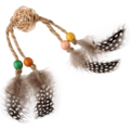 Eco Line  ECO LINE Rattle Wood with Feathers