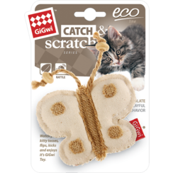 ECO LINE Canvas with Catnip Butterfly