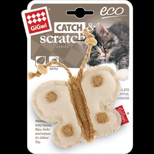 Eco Line  ECO LINE Canvas met Catnip Vlinder