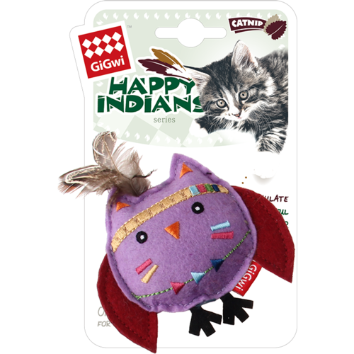 Happy Indians  HAPPY INDIANS Catnip Owl