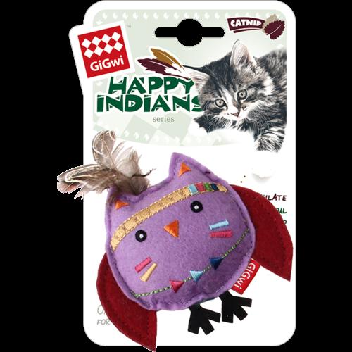 Happy Indians  HAPPY INDIANS Kattenkruid Uil