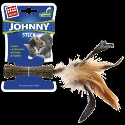 JOHNNY STICK met veren Bruin