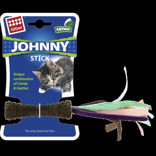Johnny Stick  JOHNNY STICK met papier veelkleurig