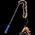 Feather Teaser  FEATHER TEASER Kattenhengel met pluchen staart Blauw