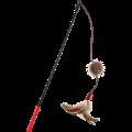 Feather Teaser  FEATHER TEASER Kattenhengel met pluchen staart Rood