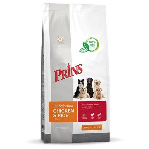Prins Fit Selection hond kip&rijst 15 kg