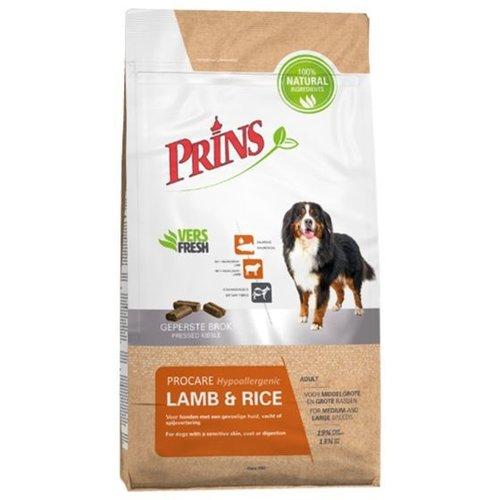 Prins ProCare lamb&rice hypoallergic 15 kg