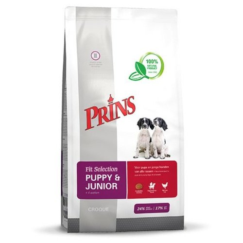 Prins Fit Selection hond puppy&junior 10 kg