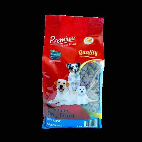 EU-Pet Kip/ Rijst Crackers