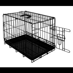 JV TRAVEL Wire cage 1 Door Black