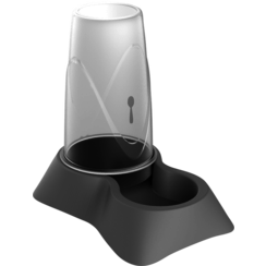 JV PLASTICS Stella Food and Water Dispenser Grey