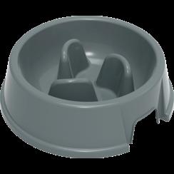 JV PLASTICS Stella Slow Feed Bowl Grey