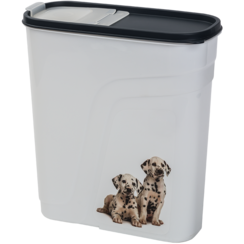 JV PLASTICS Food storage box Grey-4L 10x24x26cm