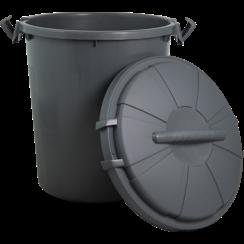 JV PLASTICS Food storage box Grey-50L 44x54cm