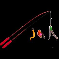 JV FUN DANGLERS Retractable with 3 accessories  -38-97cm