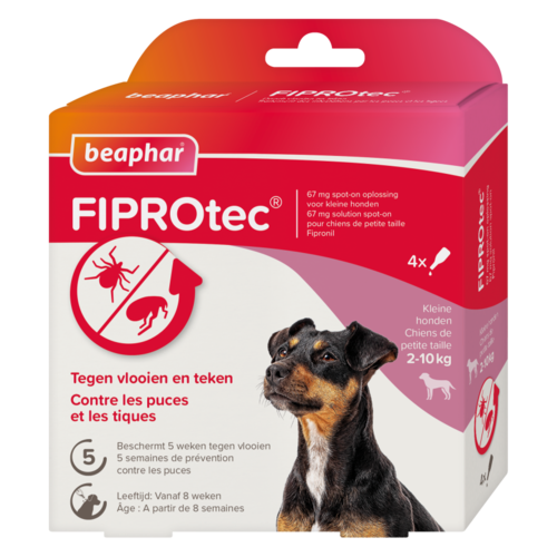 Beaphar FIPROtec hond 2-10kg