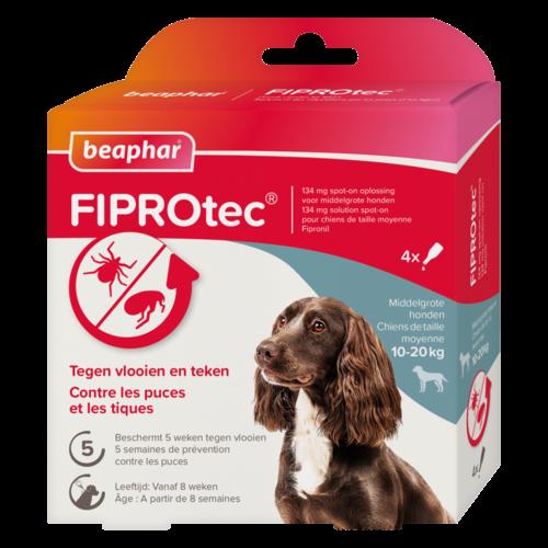Beaphar FIPROtec hond 10-20kg