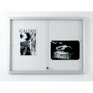 informatiekast 4 x A4 - 332 Wandmodel - Binnen