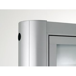 informatiekast 16 x A4 - 1593 Staand model - Buiten