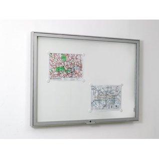 informatiekast 21 x A4 - 6025 Wandmodel - Binnen en buiten