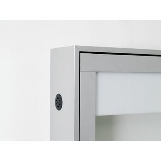 Informatiekast 8 x A4 - 10025 Wandmodel - Buiten