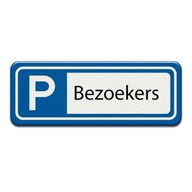 Parkeerplaatsbord Bezoekers