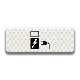 Verkeersbord RVV OB19 elektrische voertuigen