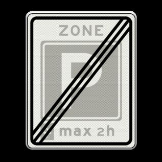 Verkeersbord RVV E11ez