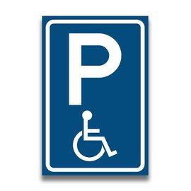 Volkern vlakbord invalide parkeerbord
