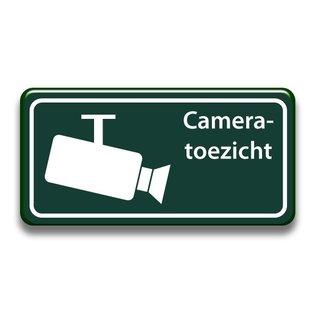 Cameratoezicht bord