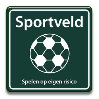 Sportveld eigen risico 400 x 400 mm