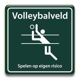 Volleybalveld eigen risico