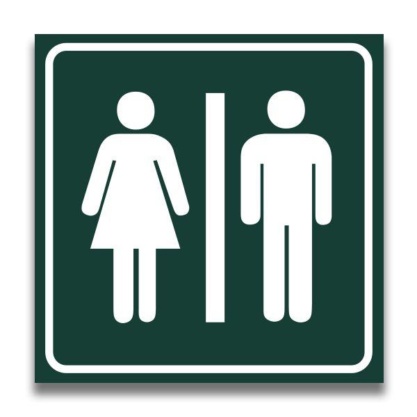 ecb3f2bcd30 Toiletbord toilet dames-heren - VOIS-shop