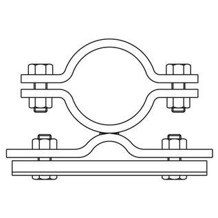 Bordbeugel STAAL enkelzijdig (014)