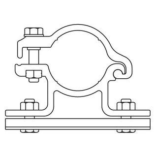 Bordbeugelset (2 stuks) ALU enkelzijdig (001)