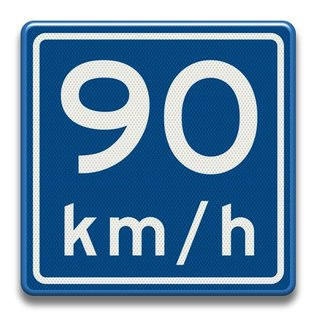 Verkeersbord RVV A0490