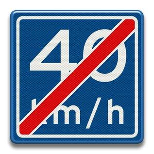 Verkeersbord RVV A0540