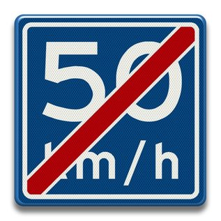 Verkeersbord RVV A0550