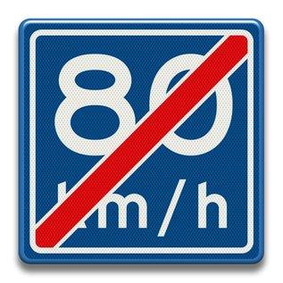 Verkeersbord RVV A0580