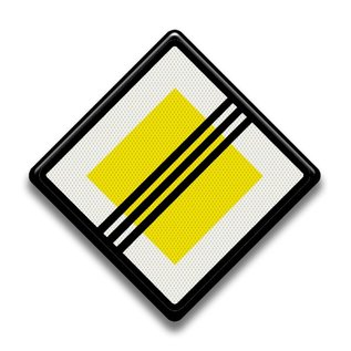 Verkeersbord RVV B02