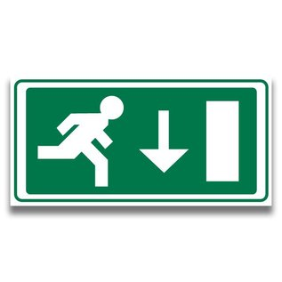 Nooduitgang 1 rechtdoor