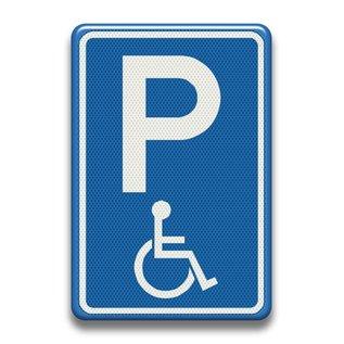 Verkeersbord invaliden parkeerplaats RVV E06