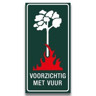 Voorzichtig met vuur groen