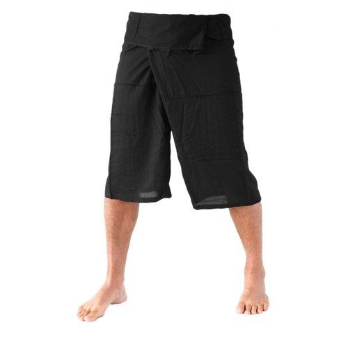 Fishermanspants Fishermanspants 3/4 rayon zwart