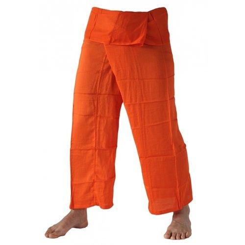 Fishermanspants rayon oranje
