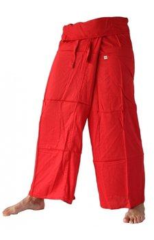 Fishermanspants rayon rood
