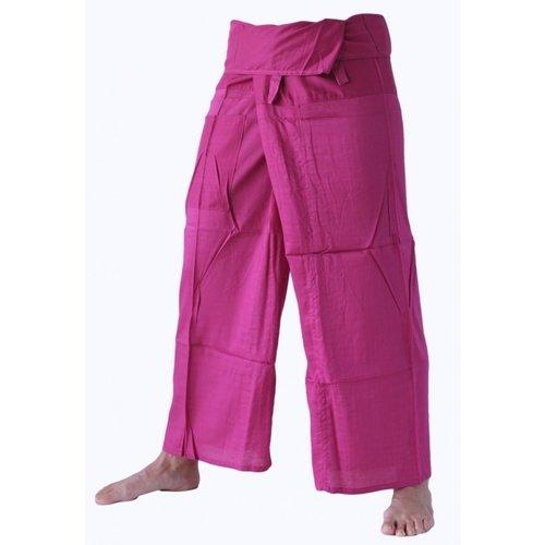 Fishermanspants rayon roze